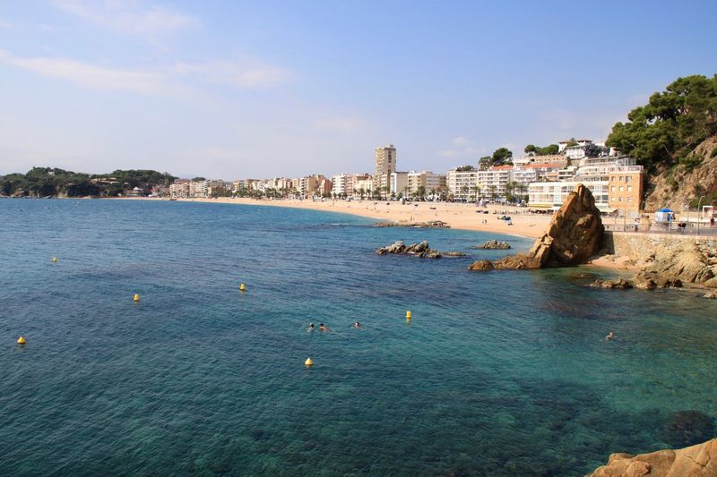 Beach Beach Photography Beachphotography City Cityscape Coast Lloret De Mar Lloret De Mar Beach Lloretdemar No People Sea Seascape Seaside SPAIN Summer Travel Destinations Vacations Water