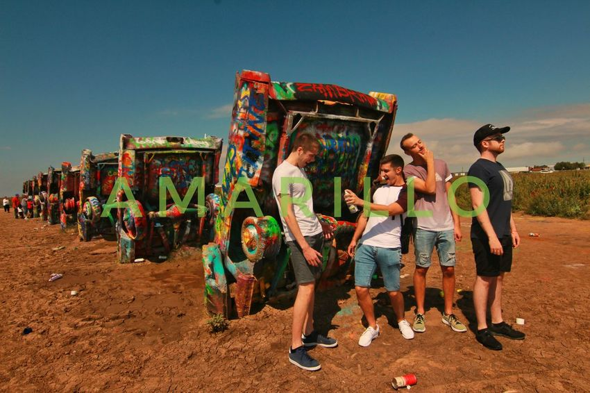 Cadillac Ranch America Www.joshbaileyphotography.weebly.com Route 66 Travel Photography
