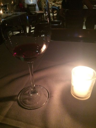 Wineglass Wine Indoors  No People Close-up Table Flame Freshness Drink