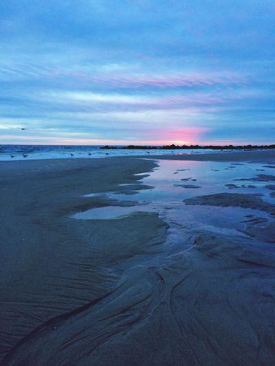 Sunset At Long Beach, NY EyeEm Best Shots Visualmagic Sky Collection EyeEm Sunset