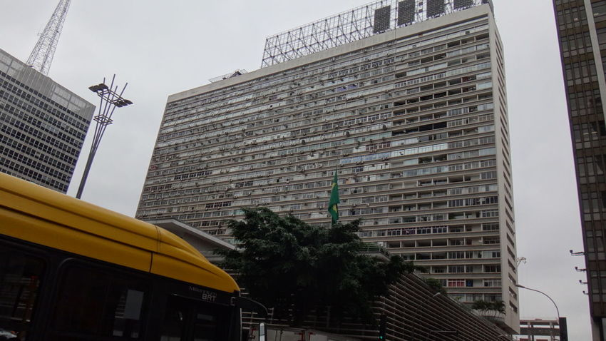 PAULISTA AVENUE SAO PAULO BRAZIL 2016 Architecture Building Building Exterior Built Structure City City Life Day Development Exterior EyeEm Team Growth Low Angle View Modern No People Office Building Outdoors Residential Building Residential Structure Sky Tall - High