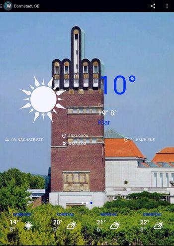 Darmstadt Geiles Wetter!