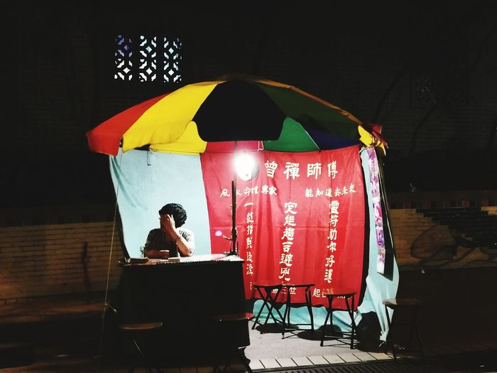 stall of a fortune teller Fortune Teller Empty Stalls No Client Huawei Photography Huawei P10 Night Photography City Red The Portraitist - 2018 EyeEm Awards The Traveler - 2018 EyeEm Awards HUAWEI Photo Award: After Dark