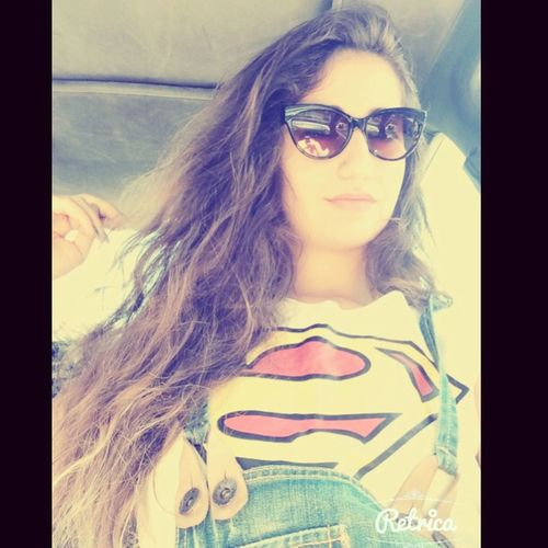 I Was On My Way To The Beach Wearing A Superman Crop-top