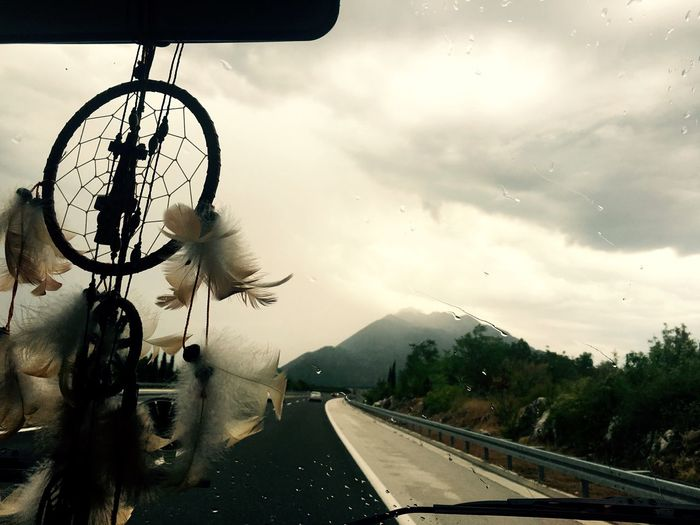 On the Road. On The Road IPhoneography Croatia Iphoneonly Home Is Where The Art Is Dreamcatcher Traveling View Out Of The Window Mountain View Eyeemphoto The Drive Miles Away The Great Outdoors - 2017 EyeEm Awards Live For The Story