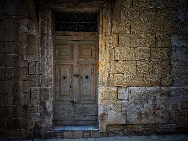 Door Architecture Built Structure Door No People Building Exterior Entrance Day Outdoors Travel Photographer Travel Photography IPhoneography Photooftheday Textured  Malta