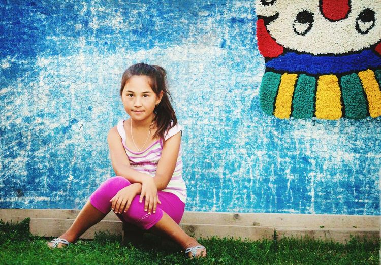 That's Me Enjoying Life Cheese! Girl Made In Romania People Portrait Tatar Colors