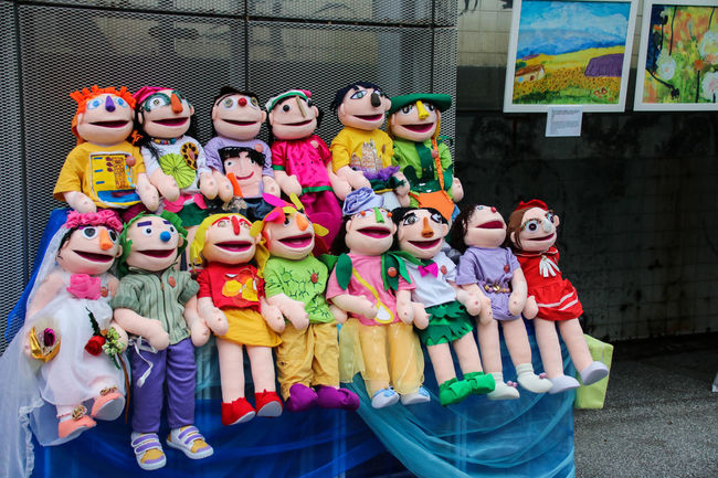 Hong Kong New Life Psychiatric Rehabilitation Association in Taiwan 1965year EyeEmNewHere Hong Kong Index Life Spirituality Arrangement Art And Craft Choice Close-up Collection Day For Sale Human Representation Indoors  Multi Colored No People People Psychiatric Puppet Retail  Sculpture Store Variation
