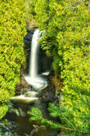 Waterfall Waterfalls And Calming Views  Minnesota💙 North Shore Minnesota Fall Beauty