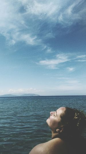 Smile EyeEm Best Shots Wildchild Sea Life Blue Noedit #nofilter #notneeded Life Is A Beach Amazing Beauty First Eyeem Photo Nofilter