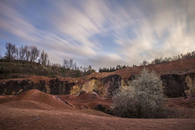 Cloud - Sky Day Landscape Longexposure Nature ND Filter No People Outdoors Rock - Object Sky Tree