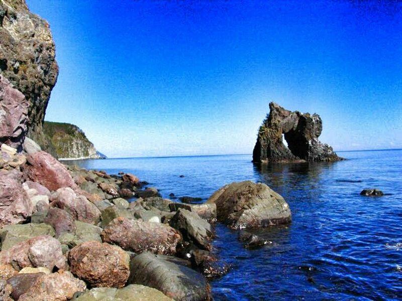 Far East Tatar Strait Archway
