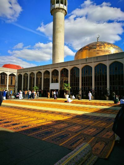 LONDON CENTRAL MOSQUE - Regents Park Mosque Religion Culture Peaceful LONDON❤ Prayertime Mosque Day Happy Moments Hello World