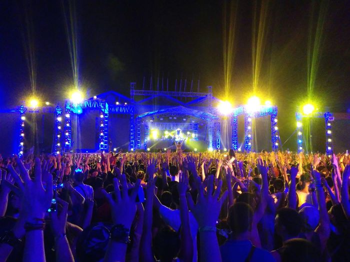 Raise your hand up. Electronic Music Shots Cebu Lifedance2015 Lifedance
