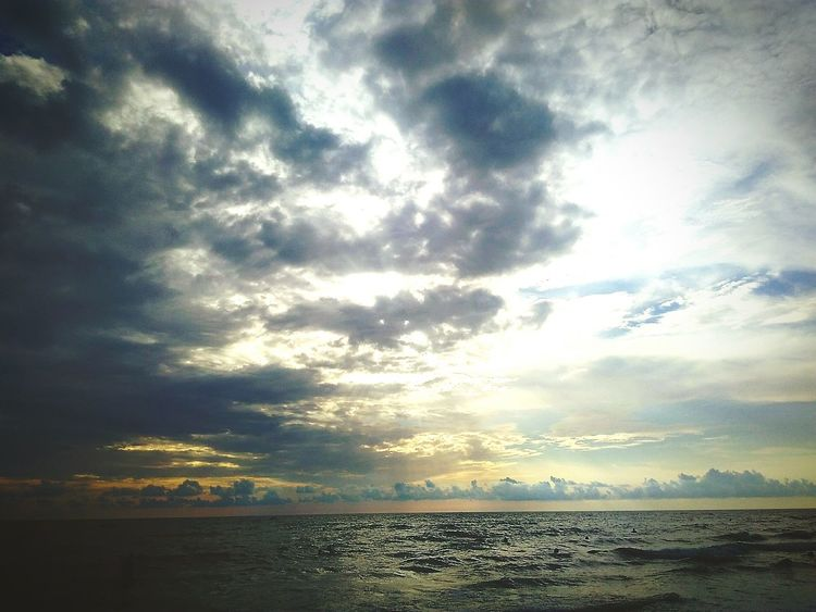 Seaside Sea Sun Clouds Nubivagant EyeEm Best Shots Eyeem Pic Of The Day
