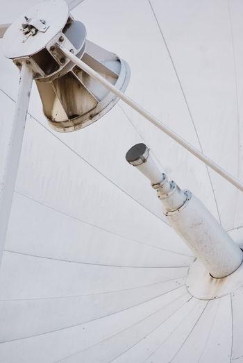 Full frame shot of satellite dish