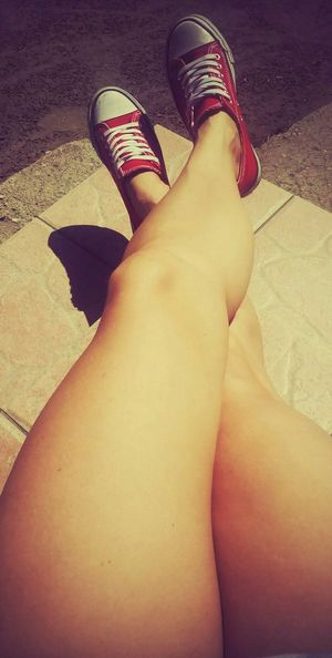 Legs sunny day Trainers ❤