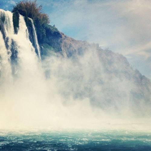 Antalya Lara Heaven Dolphins Sea Falez Waterfalls Rocks Boat Tour Likeforlike Like4like Limak