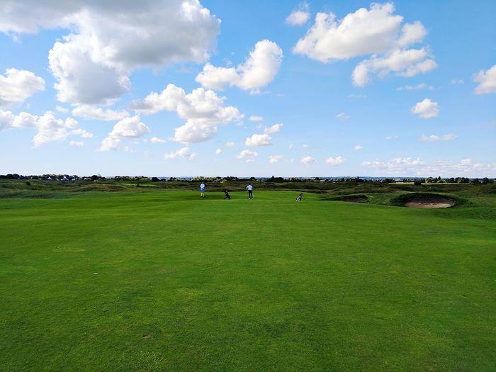 Cloud - Sky Outdoors Sky Day Golf Course Landscape