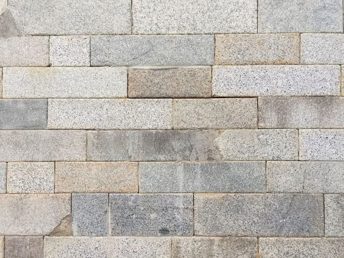Stoned stacks Backgrounds Full Frame Pattern Textured  No People Gray Day Architecture Geometric Shape Wall - Building Feature Stone Material Design