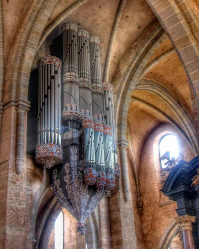 Hdrphotography Hdrlovers Hdroftheday Hdr_gallery Organpipes Organ Pipes Inside Stpeterscathedral Dom Trier Trier, Germany's Oldest City Germany St. Peters Cathedral Pipe - Tube Musical Instrument History