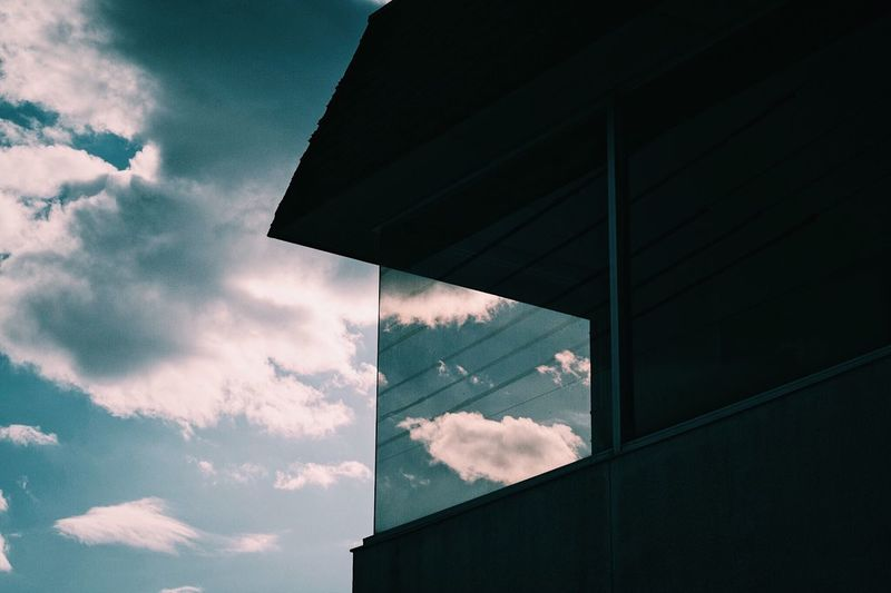 Cloud - Sky Sky Low Angle View Built Structure No People Architecture Day Nature Outdoors Building Exterior Beauty In Nature