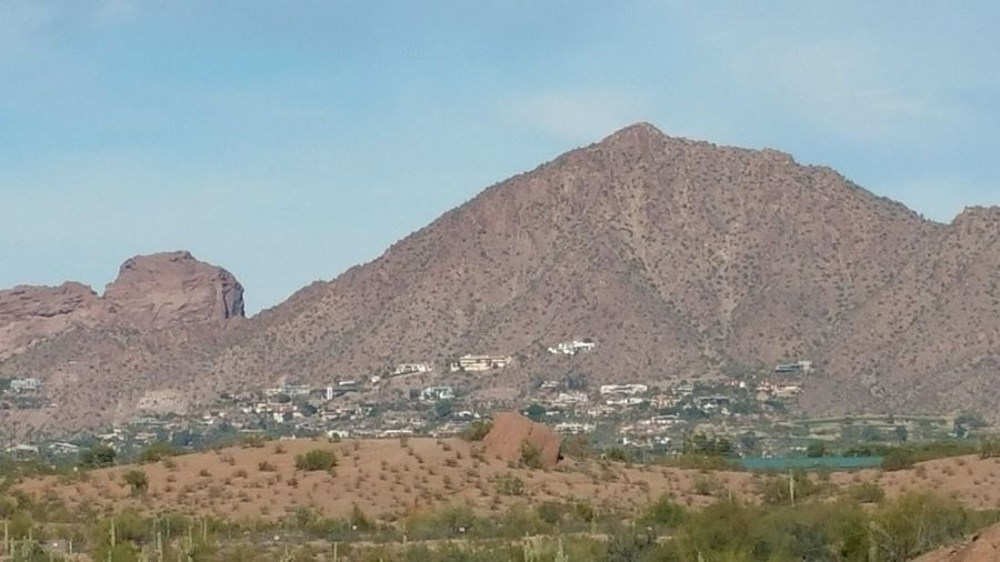 Landscape Mountain Nature Sky Day Outdoors Beauty In Nature CamelbackMountain AZ