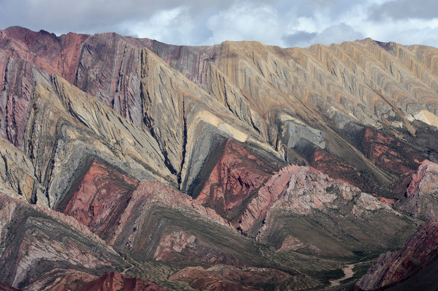Andes Argentina Arid Climate Beauty In Nature Day Geology Hornocal Humahuaca Landscape Mountain Mountain Range Nature No People Outdoors Physical Geography Scenics Sky Tranquil Scene Tranquility Travel Destinations
