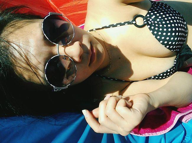 Sunbathing Relax Pool Last Sun греемся в последний раз в этом сезоне(((