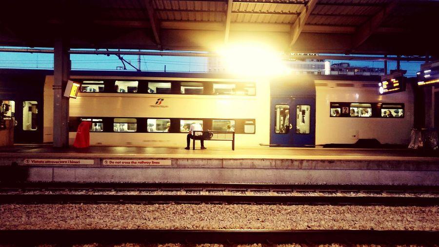Transportation Public Transportation Railroad Station Platform City Life Railroad Track Mode Of Transport Life Sad Sadness Railroad Station Outdoors Lost Somebody First Eyeem Photo