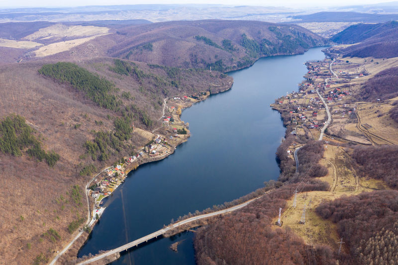Aerial view of a lake, drone shot Water Scenics - Nature High Angle View Beauty In Nature Mountain Environment Nature Tranquil Scene Aerial View Lake Landscape Travel No People Outdoors Aerial Aerial Photography Aerial Shot Aerial Landscape Dronephotography Drone Photography Drones Drone  Romania Top View Lake View