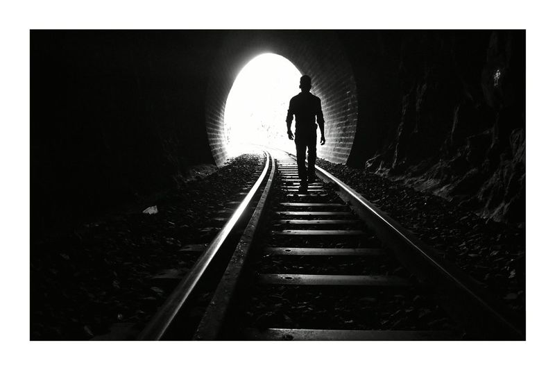 EyeEmNewHere Blackandwhite Saclicks Tunnel