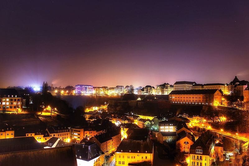 Luxembourg Landscape Light Night Colorful Long Exposure First Eyeem Photo