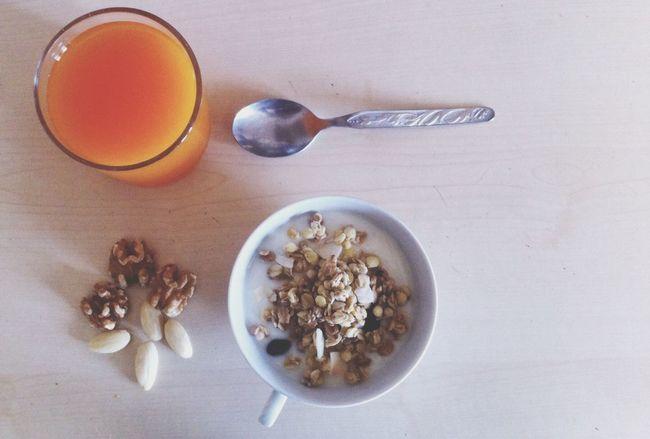 Having Breakfast Breakfast Hello World Enjoying Life