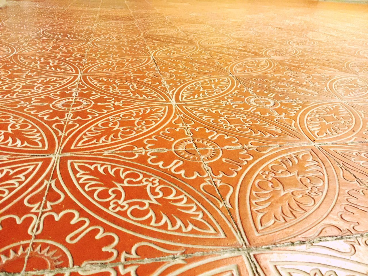 design, pattern, floral pattern, backgrounds, ornate, textile, red, indoors, no people, close-up, day