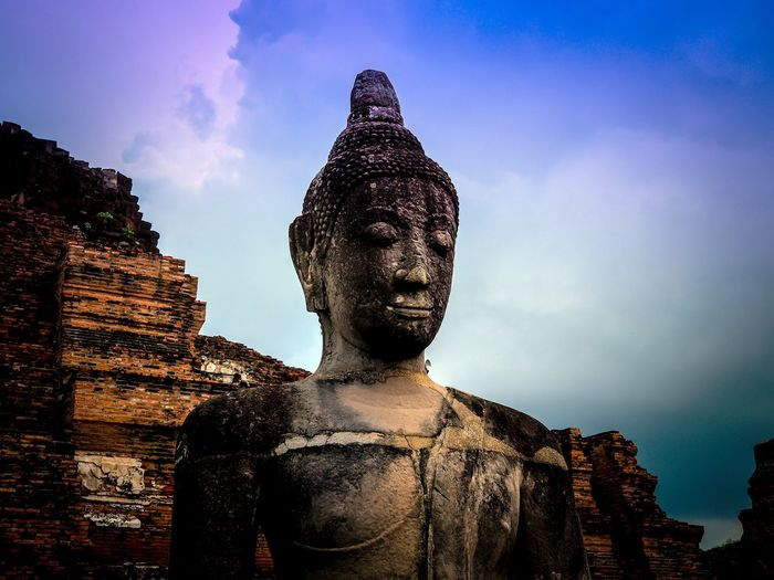 Wat Ayutthaya, A very famous place for Tourist attraction in Thailand Ayutthaya Buddha Thailand Tourist Attraction  Archaeological Sites Buddhist Temple Buddist Statue Historic Site Wat Ayutthaya The Week On EyeEm