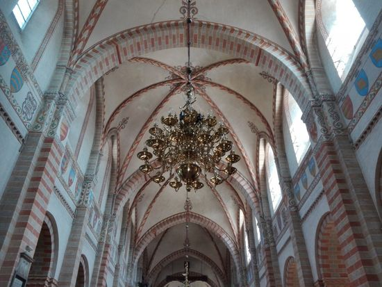 Sorø Monastery Church Denmark Danmark #sorø Monastery Church No People Church Place Of Worship Arch Ceiling Architectural Design Religion History Architecture Built Structure Fresco Chandelier Mural Hanging Light Architectural Detail Dome Interior Hanging Architecture And Art