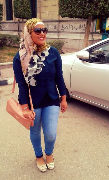 Cairo University Happy That's Me Tan