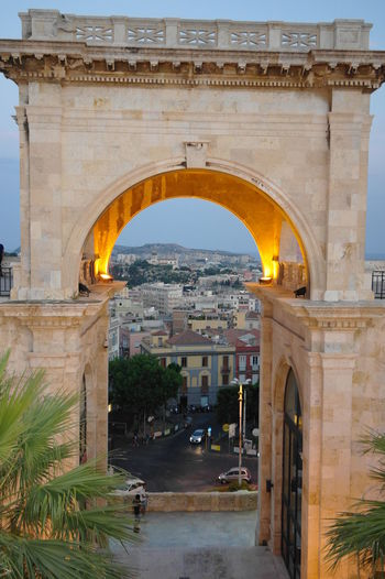 Arch Architecture Bastione Bastionesaintremy Built Structure Cagliari Cagliari, Sardinia City Day No People Outdoors Sky Travel Destinations