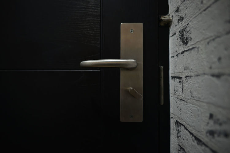 Door handle on