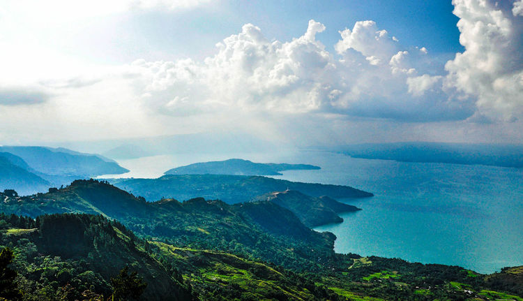 God hands work and create for our lives. Nikon d90 Perspectives On Nature Moments Nature Sky Beauty In Nature Landscape LakeToba  Laketobaview North_sumatera Lake View Tree