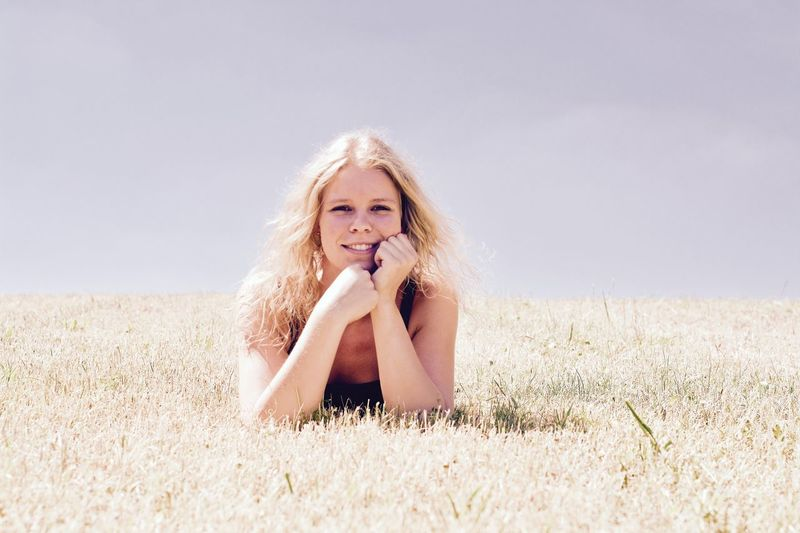 Beauty Blond Hair Child Children Only Day Enjoyment Girls Grass Hair Length Happiness Human Hair Long Hair Looking At Camera Nature One Girl Only One Person Outdoors People Portrait Portrait Of A Woman Portraits Shooting Photos Smiling Summer Vacations Sommergefühle