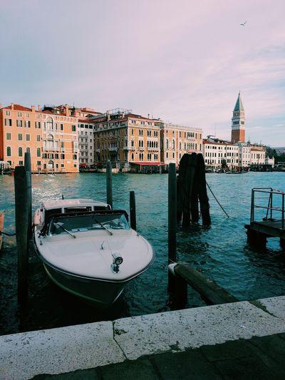Venice grand canal skyline