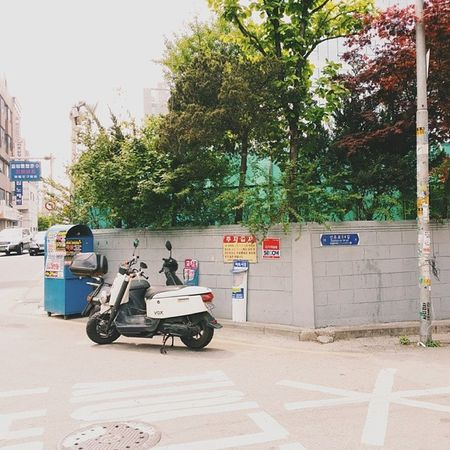 Around the corner near our apartment in Dangsan . Vscocam VSCO Seoul2014 seoul