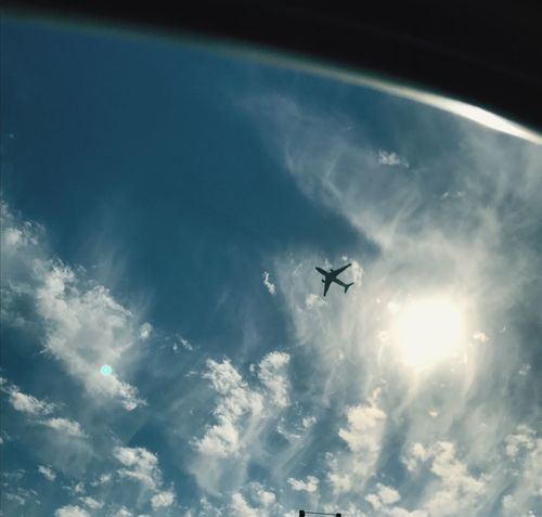 Sometimes all i want to do is to fly away ✈️ Flying Sky Low Angle View Airplane Cloud - Sky Transportation Journey Outdoors Day No People Air Vehicle Nature Airplane Wing Vacations Tranquil Scene Young Adult