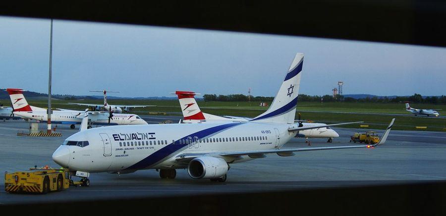The Purist (no Edit, No Filter) Airport El Al Israel