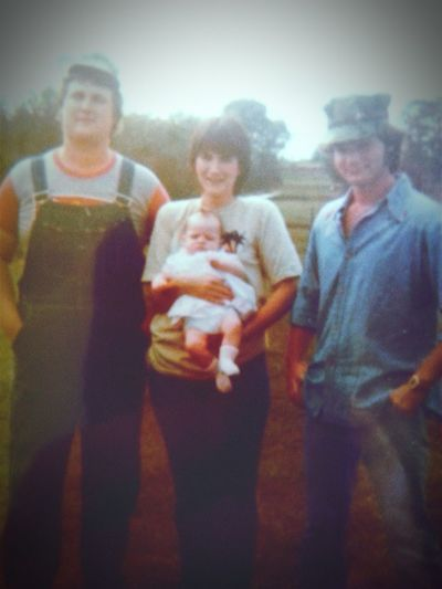 Brothers Sisters ❤ Trailertrash White Trash Southerners Family❤ The 80's REDNECKS Y'ALL His Hers And Ours