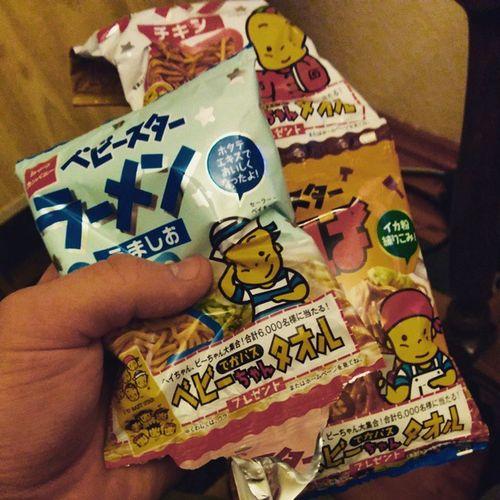 Gotta love em... Babystar... JapanesefoodFTW Japan Childhoodmemories