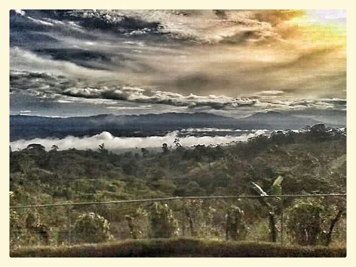 Travel Costa Rica Buswindow Landscape Landscape_photography Landscapes Scenery Travel Travelbybus Towards Sunset
