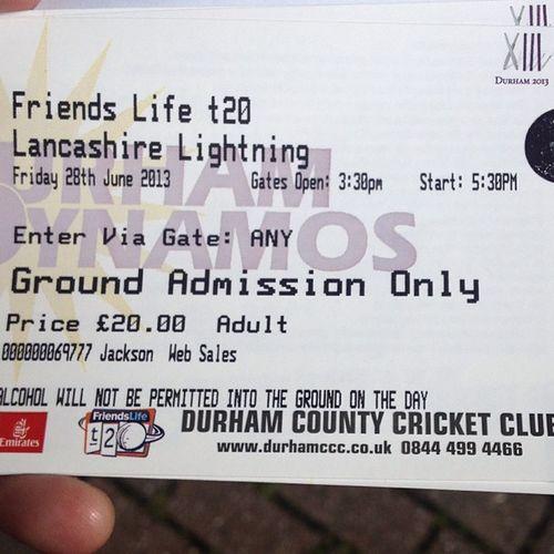 Durham Dynamos Durhamccc T20 twenty20 ticket lancs lancashire lightning cricket northeast england nofilter igers instagood iphonesia iphoneonly instagramhub tweegram sport pic picoftheday photooftheday